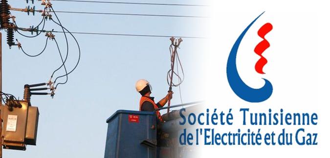 حيدرة: إثر سقوط أكثر من 100عمود كهربائي ،الشركةالتونسية للكهرباء والغاز تمد المنطقة بمولدات كهربائية متنقلة