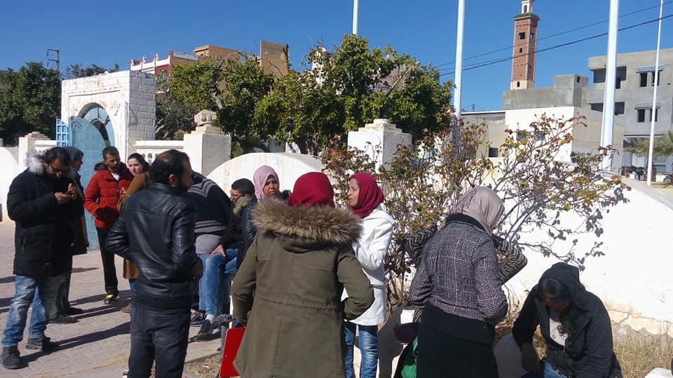 فريانة : تواصل إعتصام المصير لليوم الخامس على التوالي