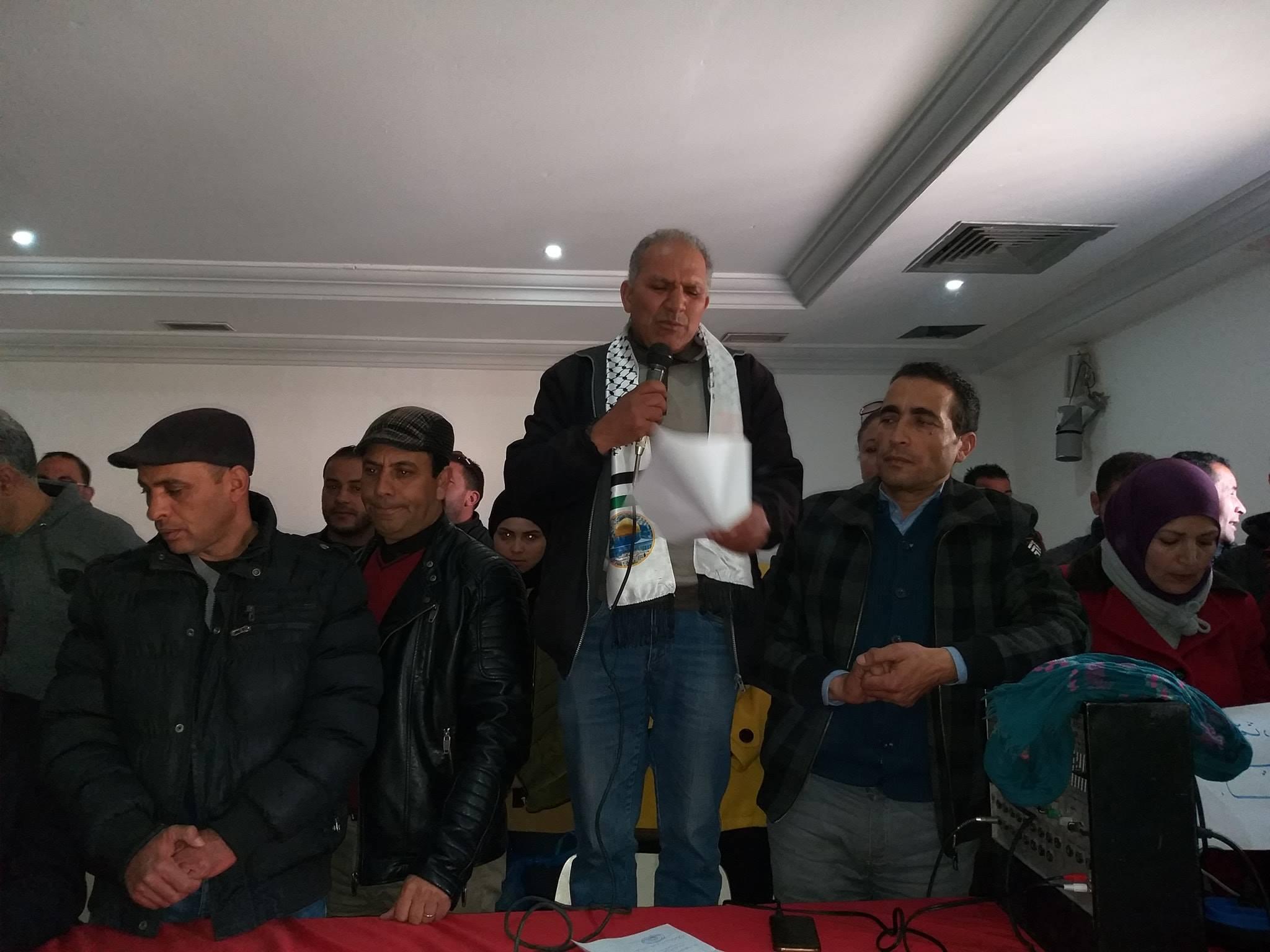 نبيل الهواشي : إضراب المعلمين في 6 من شهر مارس القادم ما يزال قائما.