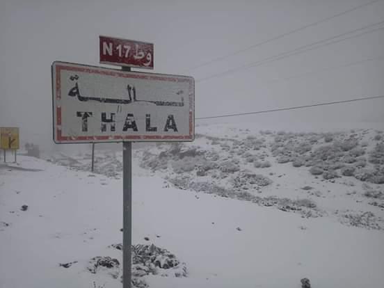 تالة : إيواء 44 شخصا علقوا بسبب الثلوج