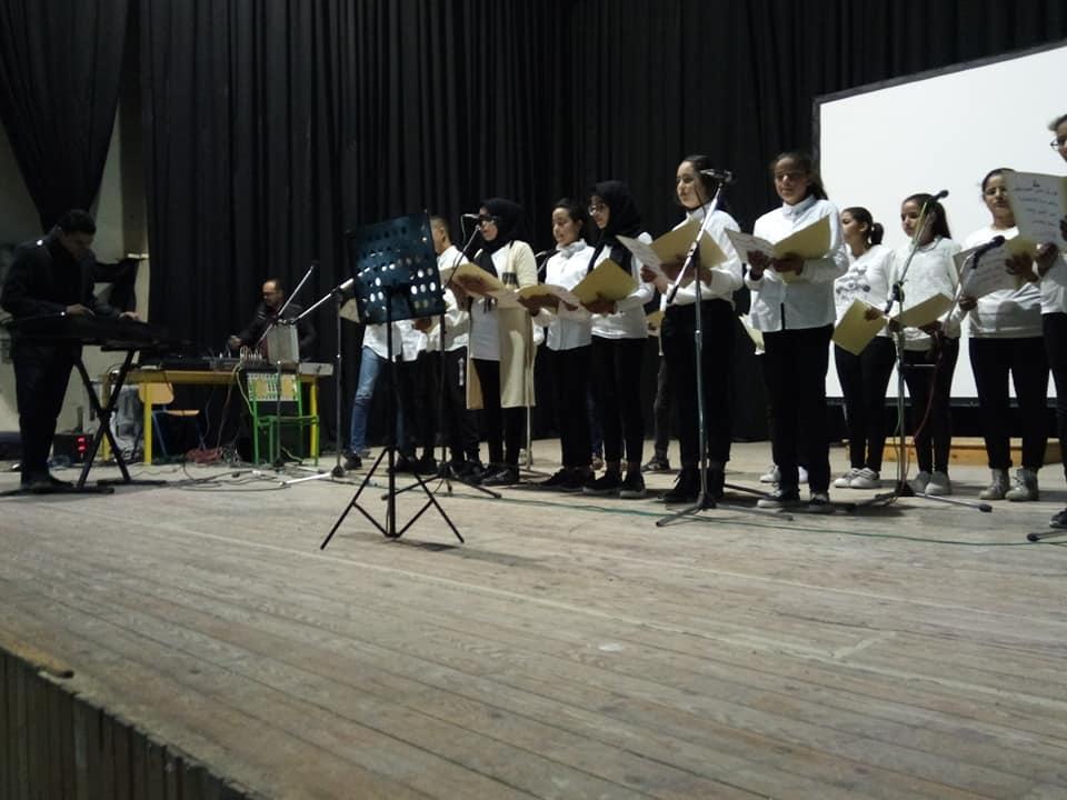مشاركات مشرفة بالملتقى الجهوي للموسيقى بالقصرين