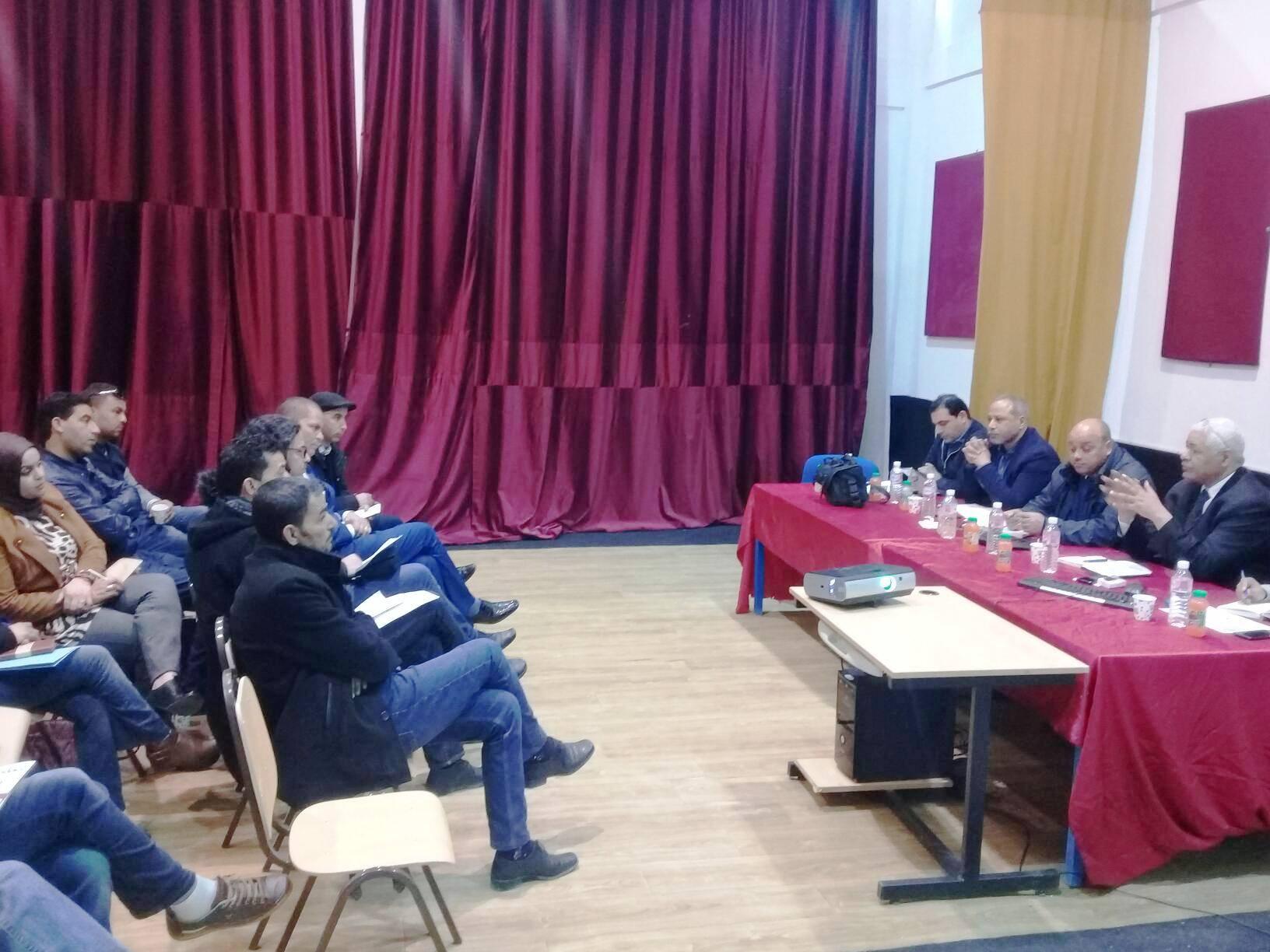 زيارة ميدانية لمؤسسات العمل الثقافي بالجهات