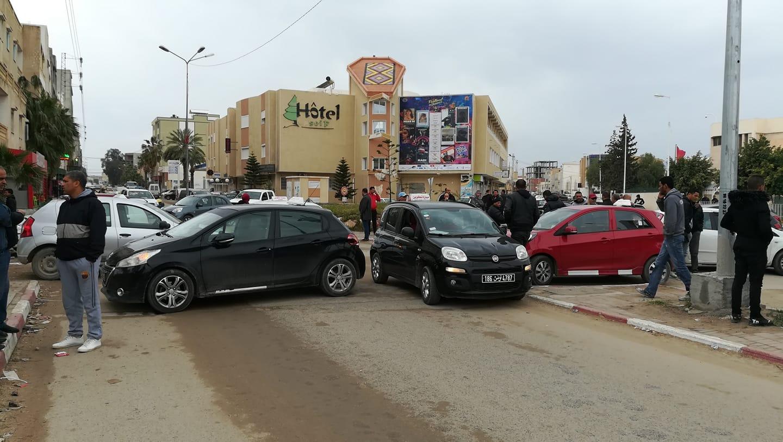 القصرين  : مزودي العلف وقفة احتجاجية