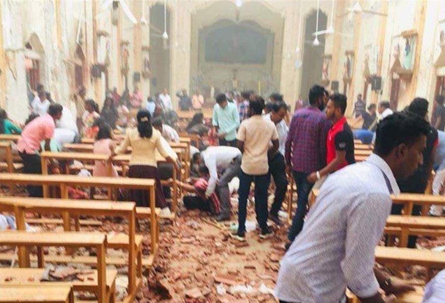 تزامنا مع احتفالات عيد الفصح : 7 انفجارات تهز سيريلانكا وعددالقتلى يرتفع الى 156شخصا