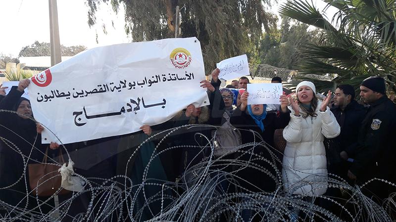 القصرين : على خلفية عدم خلاص اجورهم الاساتذة النواب يرفعون شكاية الى وزير الداخلية