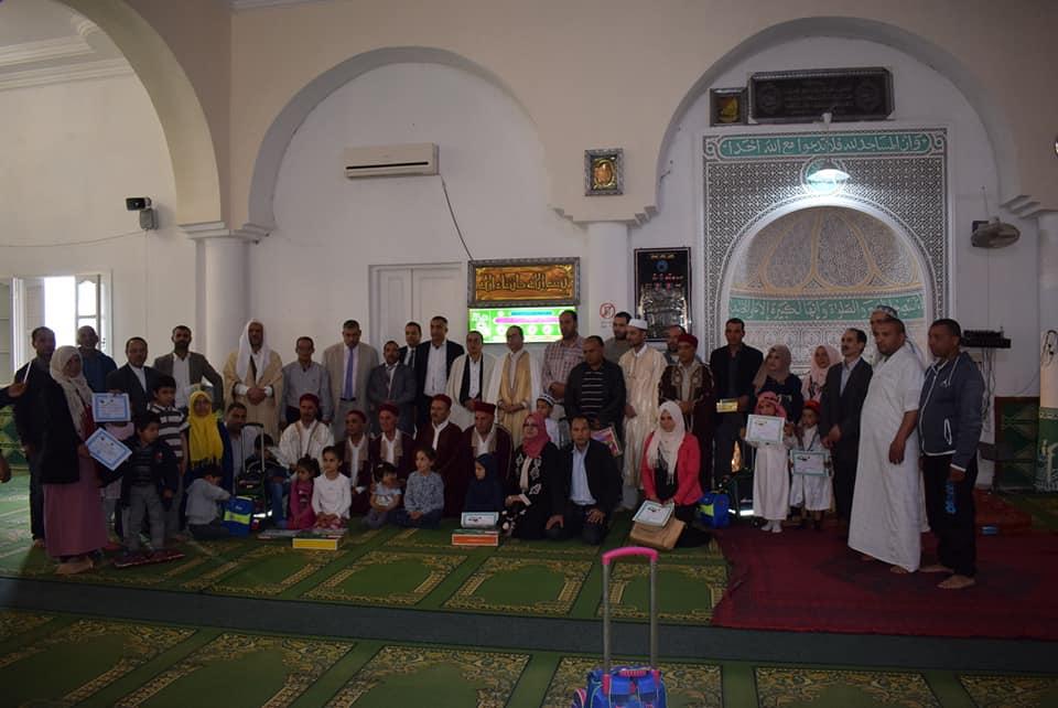 احتفالا بليلة القدر : تكريم اطفال من حفظة القران الكريم بجامع مريم