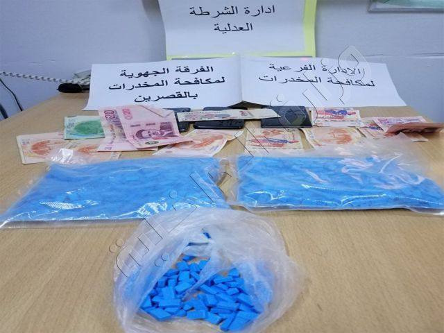 القصرين : ضبط 03 أشخاص بحوزتهم 2100 قرص مخدر