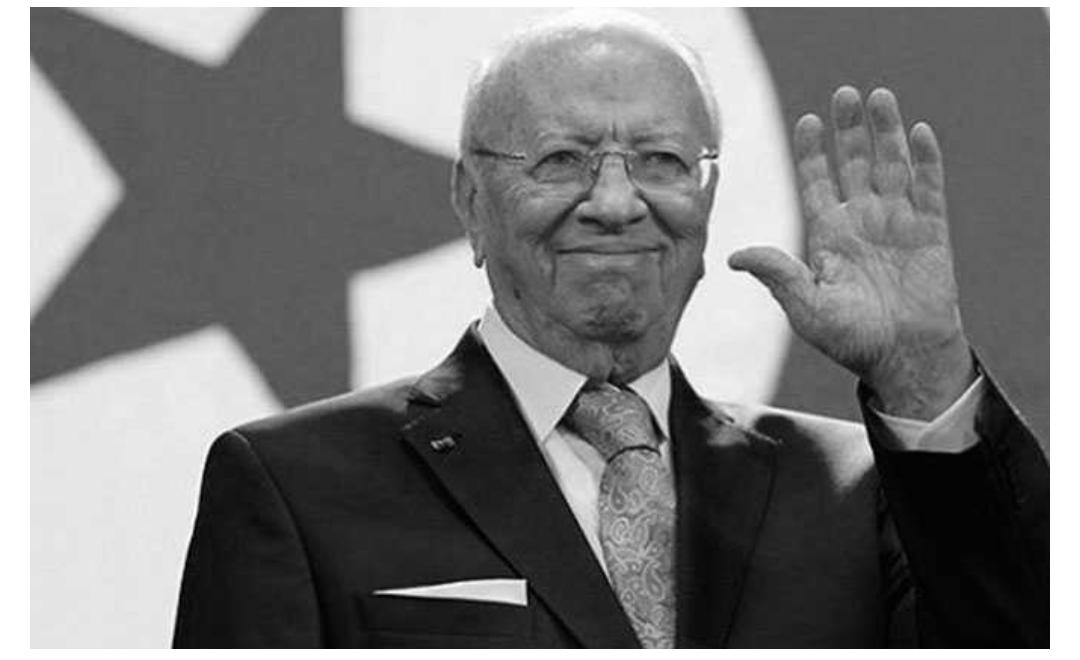 المنظمات والاحزاب في تونس تنعى السبسي وتدعو الى الوحدة الصماء