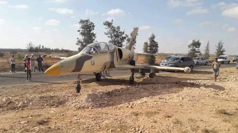 مدنين  :خرق للمجال الجوي التونسي من طرف مقاتلة ليبية و هبوطها اضطراريا