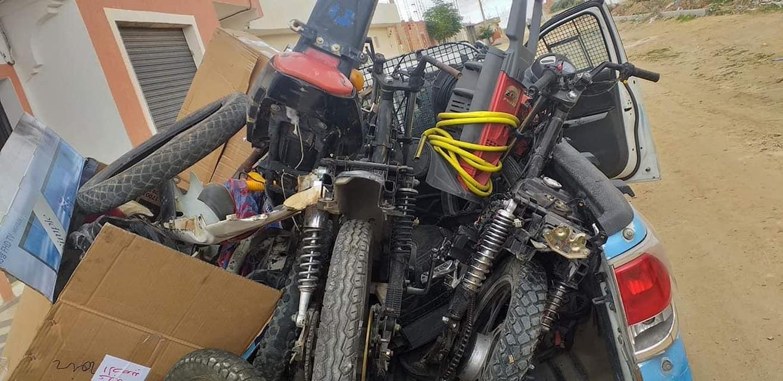 القصرين:الاطاحة بعصابة مختصة في سرقة الدراجات النارية