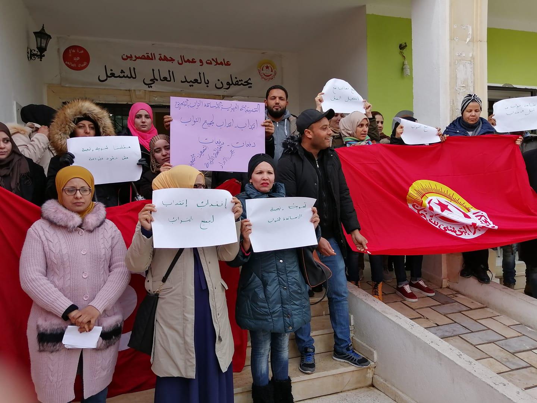 الاساتذة النواب : يومين فاصلين عن  وقفات  احتجاجية امام المندوبيات أو وقفات احتجاجية وطنية