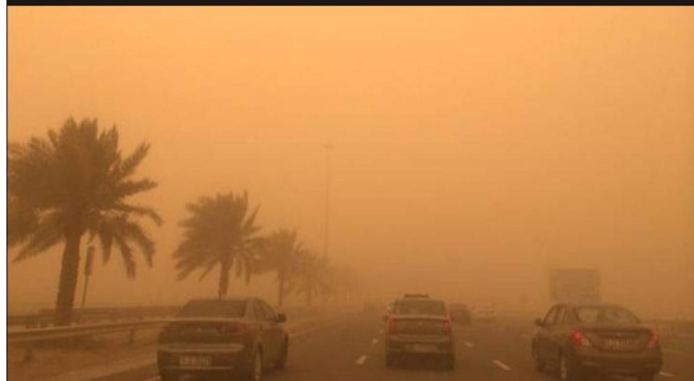 اليوم وغدا : رياح قوية جدا ومثيرة للرمال بهذه المناطق، ومعهد الرصد الجوي يحذر