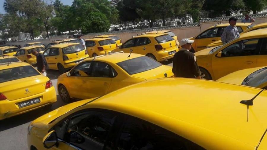 سواق التاكسي الفردي : في اضراب عن العمل يوم الاثنين 24 فيفري 2020