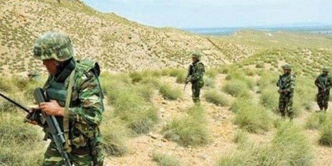 مرتفعات القصرين: العثور على قذيفة ومواد تفجير