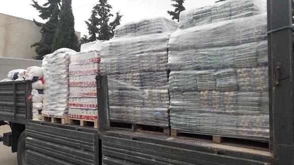 القصرين : فرق  المراقبة الاقتصادية تحجز 13 طنا من المواد الأساسية و المدعمة