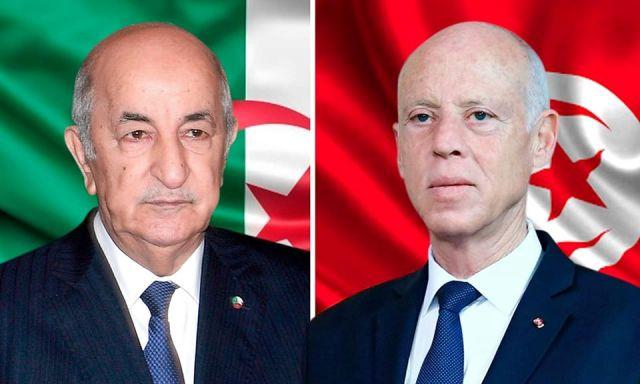 رئيس الجمهورية يجري مكالمة هاتفية مع نظيره الجزائري