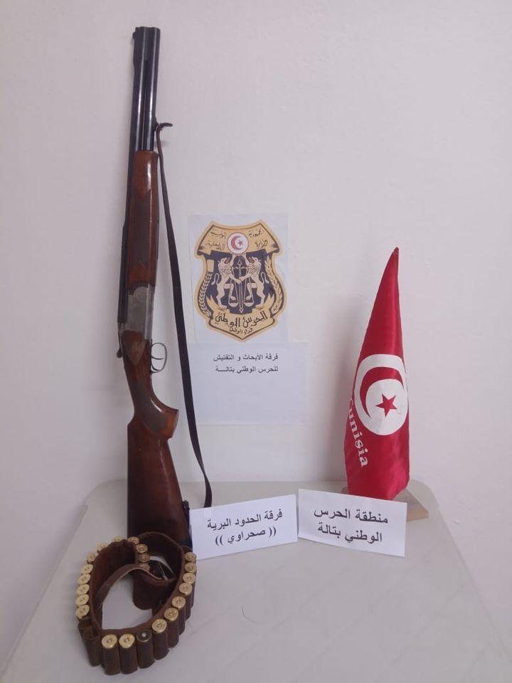 فوسانة: حجز بندقية صيد عيار 12 و 22 خرطوشة دون رخصة