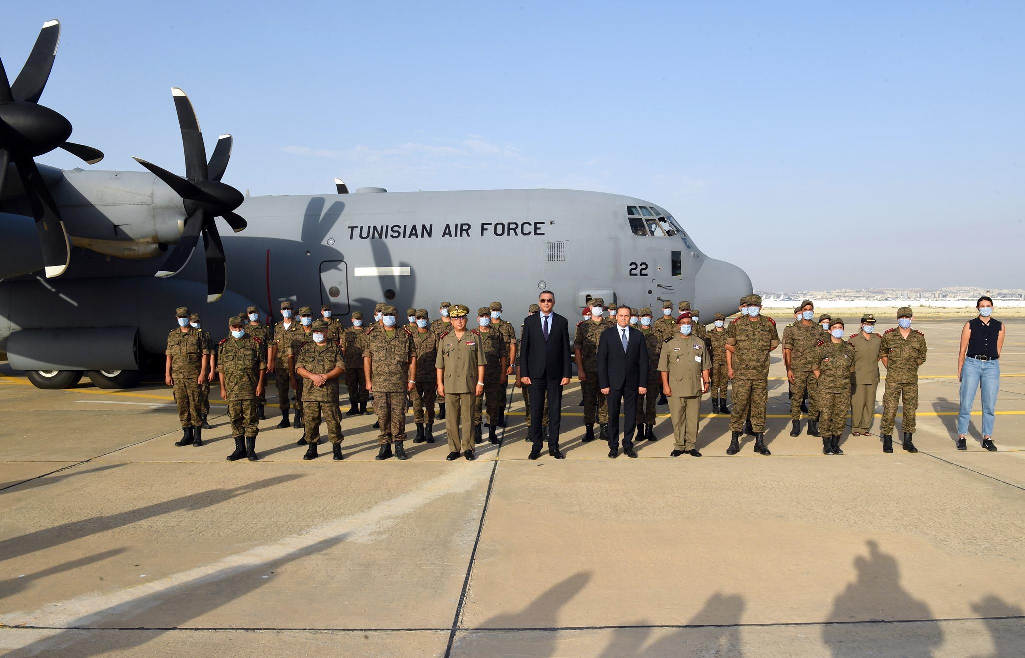 قيس سعيد يامر بارسال طائرة عسكرية الى الحامة