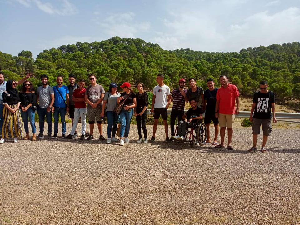 المعهد المغاربي للتنمية المستدامة ينظم ملتقى شبابي بالمركز الثقافي الجبلي سمامة