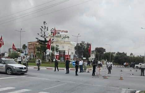 القضاء على 3 ارهابيين على إثرعملية طعن عوني الحرس بمفترق القنطاوي