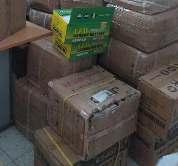 سبيبة: مداهمة مستودع وحجز كمية من البضائع المهرّبة