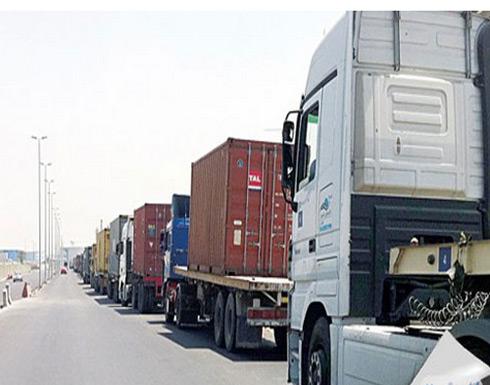تواصل السماح لعربات نقل البضائع بالتنقل خلال فترة حظر الجولان