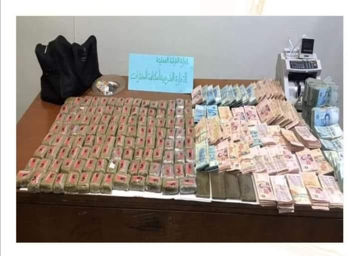 القصرين:  حجز 12.5 كلغ من مخدر القنب الهندي و15 غرام من الكوكايين و110 ألف دينار