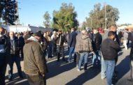 القصرين: عمّال وإطارات الشركة الوطنية لعجين الحلفاء والورق يحتجّون