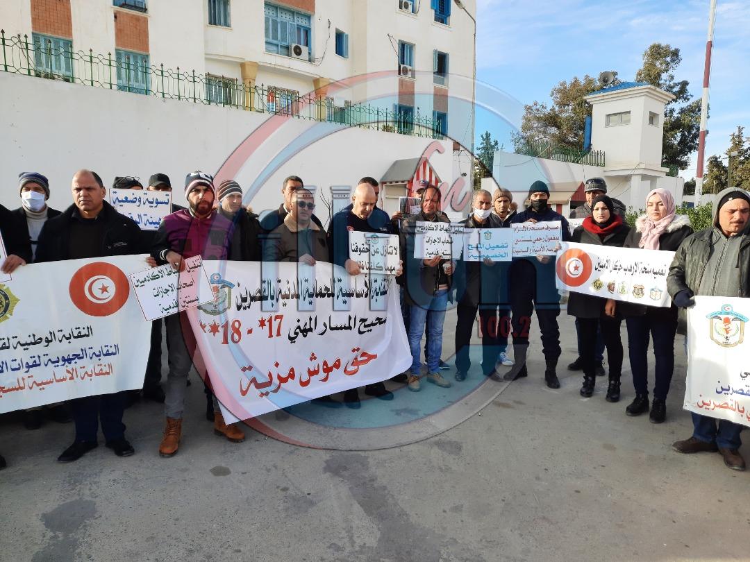القصرين: النقابة الجهوية لقوات الأمن الداخلي في